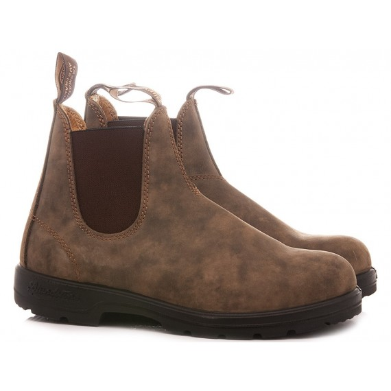 Blundstone Men's Ankle Boots Rustic Brown 585