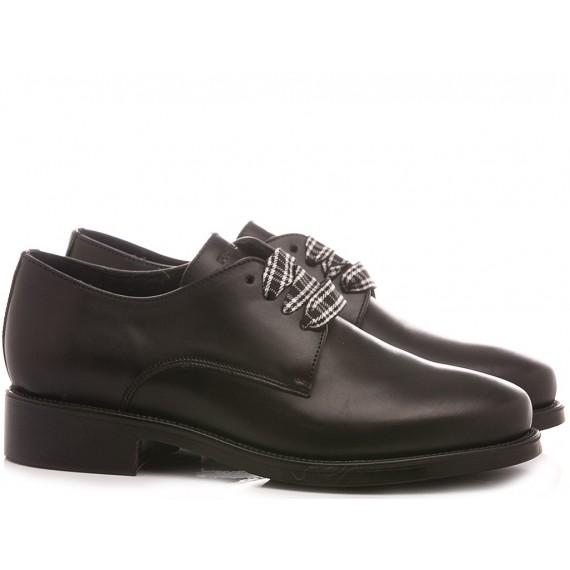 Frau Women's Shoes 98L1 Leather Black