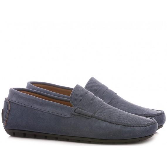 Corso Venezia Milano Men's Shoes-Loafers Suede Jeans