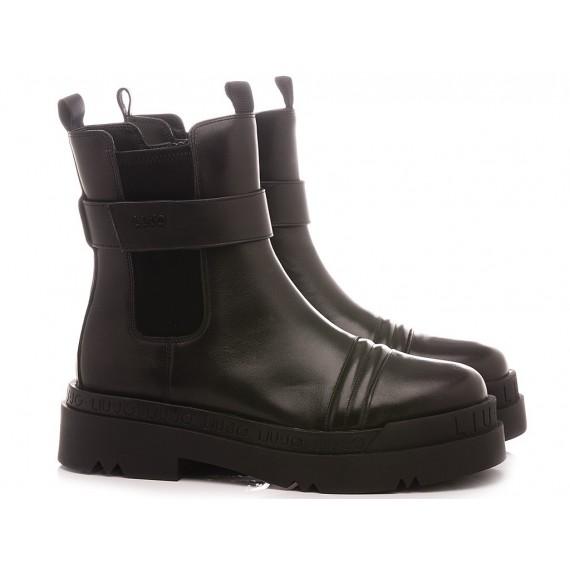 Liu.Jo Women's Ankle Boots Love 1 Black