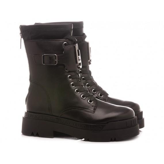 Liu.Jo Women's Ankle Boots Love 3 Black