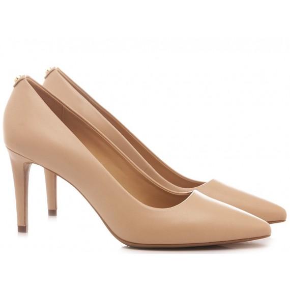 Michael Kors Women's Shoes Decolletè Leather Nude