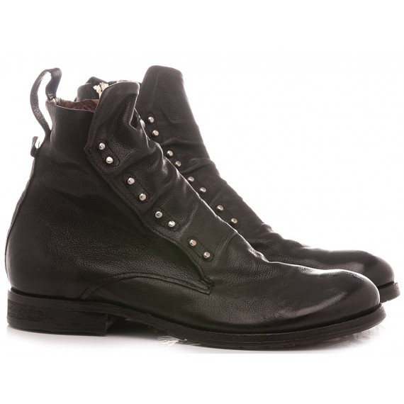 A.S. 98 Men's Ankle Boots Leather Black 401231