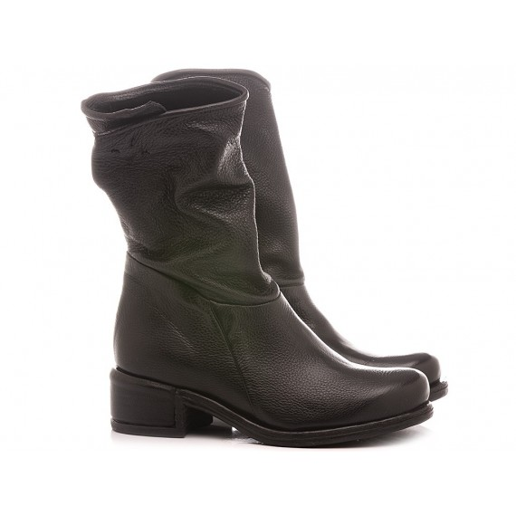A.S. 98 Women's Boots Leather Black 545326