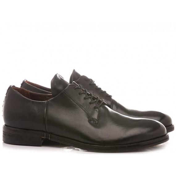 A.S. 98 Men's Shoes Leather Black 384117