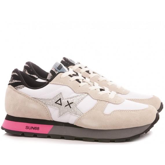 Sun 68 Women's Sneakers Ally Star Girl Zebra Z40212