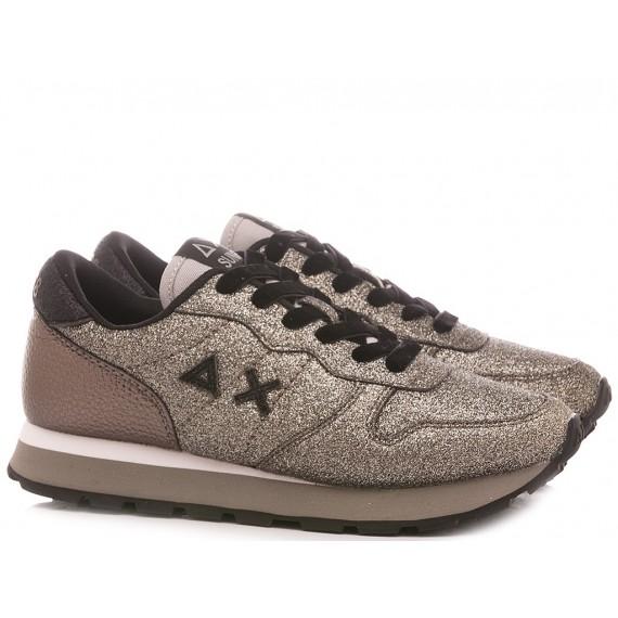 Sun 68 Women's Sneakers Ally Solid Glitter Z40209