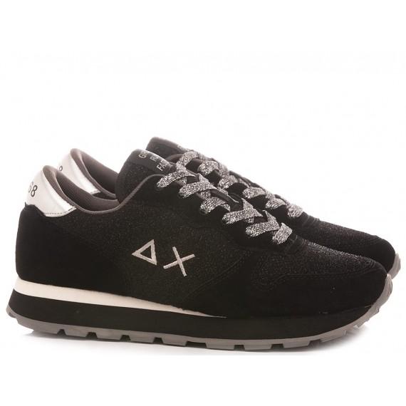 Sun 68 Women's Sneakers Ally Thin Glitter Z40205
