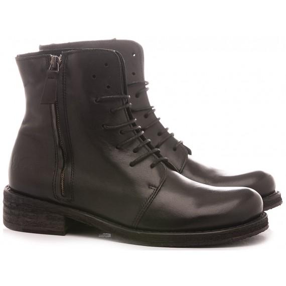 Felmini Women's Ankle Boots A615 Calf Balck