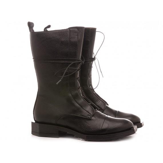 Le Bohèmien Women's Ankle Boots Leather Black K77