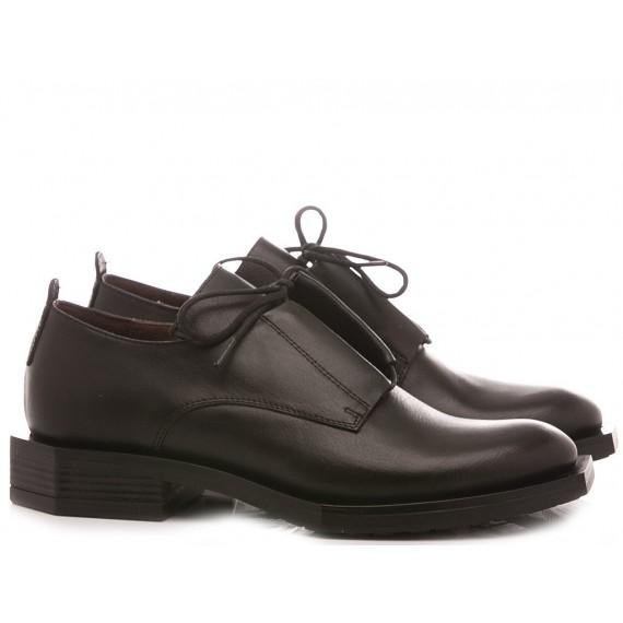 Le Bohèmien Women's Shoes Leather Black K28