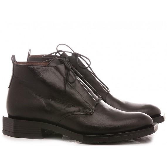 Le Bohèmien Women's Ankle Boots Leather Black K74