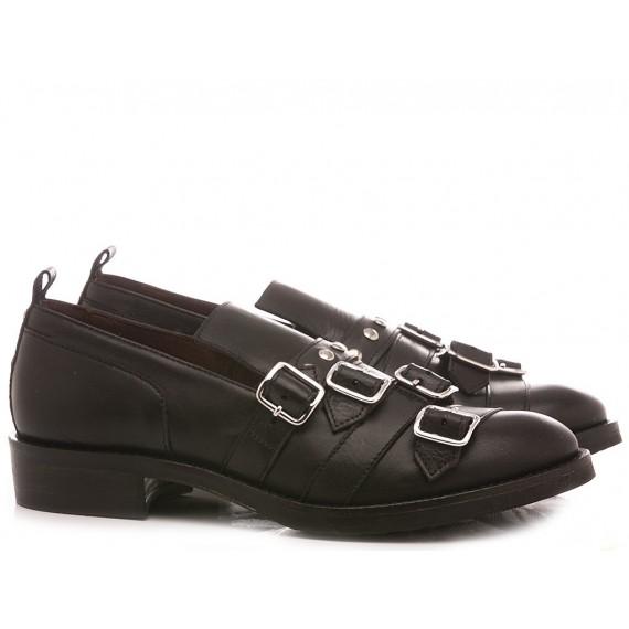 Le Bohèmien Women's Shoes Loafers Black K71