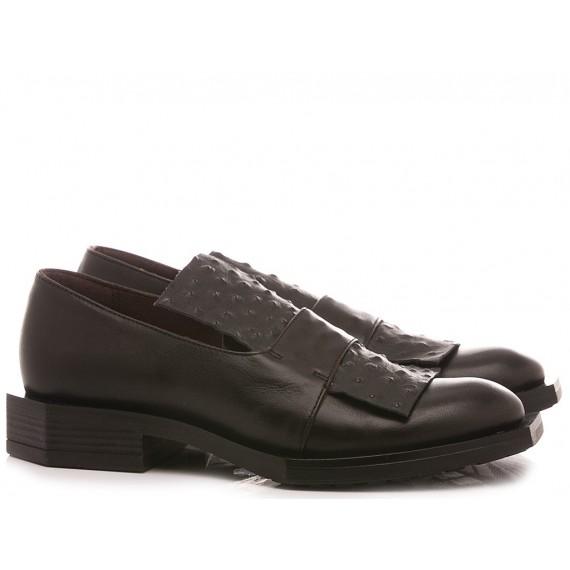Le Bohèmien Women's Shoes Loafers Black K112