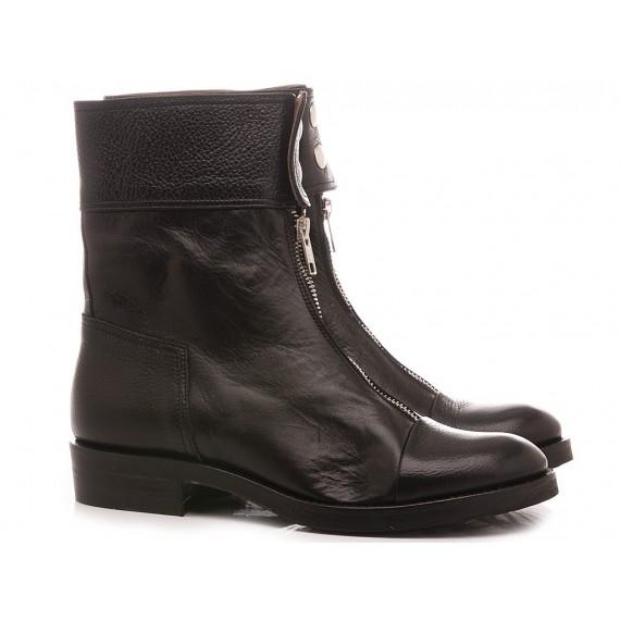 Le Bohèmien Women's Ankle Boots Leather Black K75
