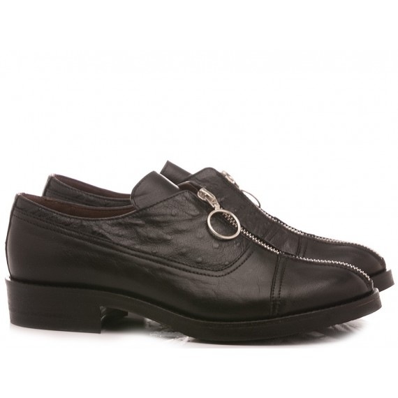 Le Bohèmien Women's Shoes Leather Black K01