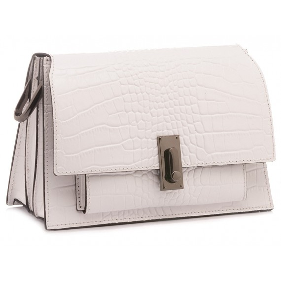 Galeotti Women's Bag Leather White