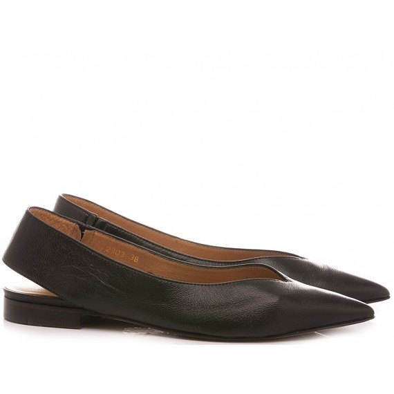 Zoe Women's Ballerina Shoes GBMUR2303/R Black