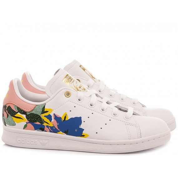 Adidas Women's Sneakers Stan Smith White-Multicolor FW2522