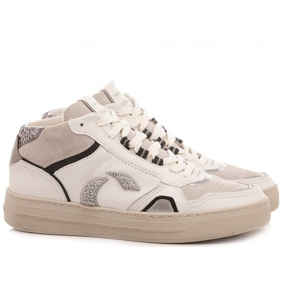 Crime London Women's Sneakers High Top Off Court