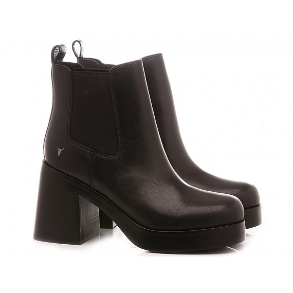 Windsor Smith Women's Ankle Boots Notorious Black