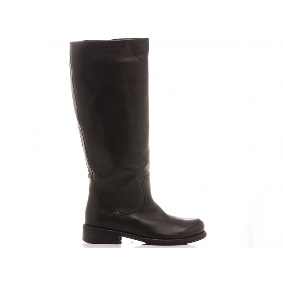 Felmini Women's Ankle Boots B930 Calf Balck