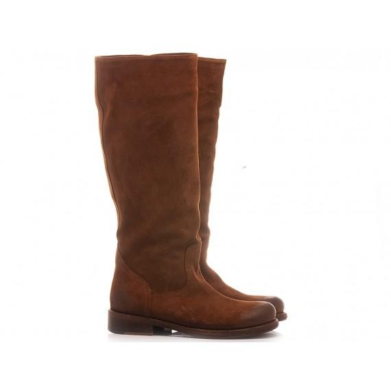 Felmini Women's Ankle Boots B930 Suede Tan