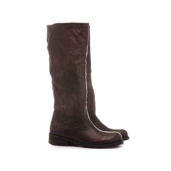 Felmini Women's Ankle Boots B930 Calf Ebony