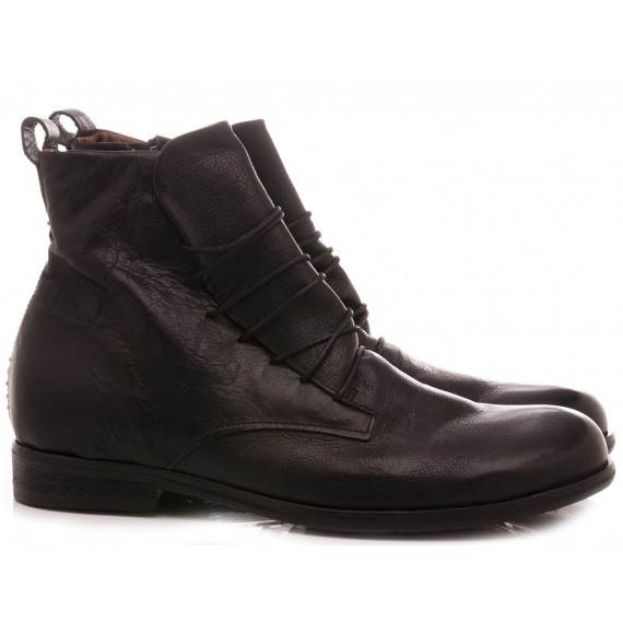 A.S. 98 Men's Ankle Boots Leather Black U19211