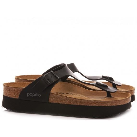 Papillio Women's Slippers Gizeh Pap Black