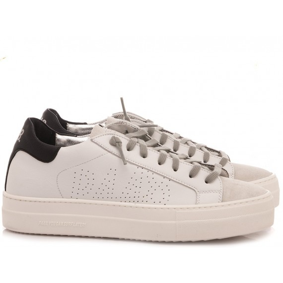 P448 Women's Low Sneakers F20BTHEA-W White-Black