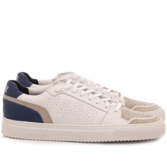 P448 Men's Low Sneakers F20ZAC-M White-Navy