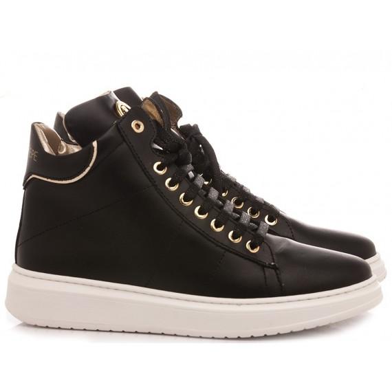 Patrizia Pepe Children's Shoes Sneakers PPJ522.01 Black