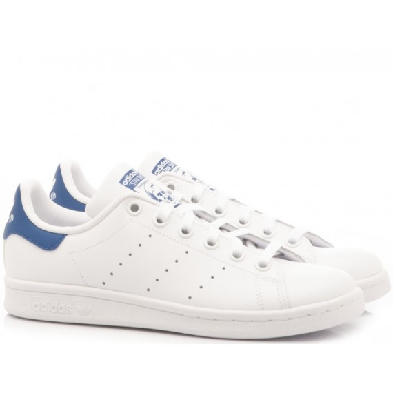 Adidas Sneakers Bambina Stan Smith J White-Pink B32703