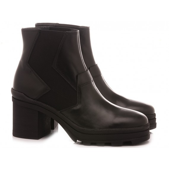 Janet Sport Women's Ankle Boots 46807 Black