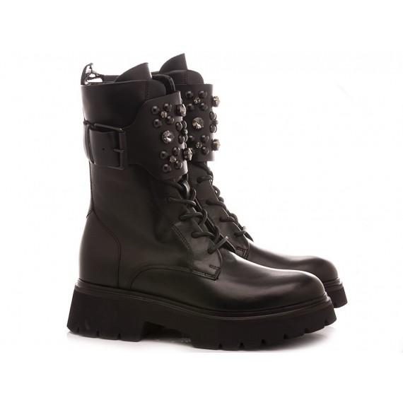 Janet Sport Women's Ankle Boots 46751 Black