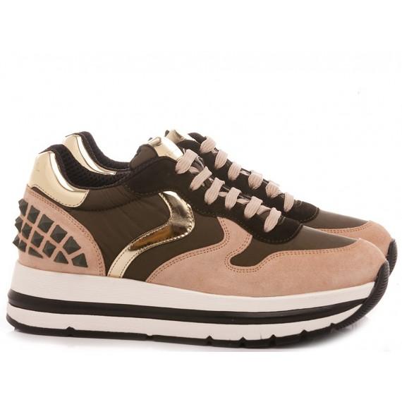 Voile Blanche Women's Sneakers Maran Studs Black