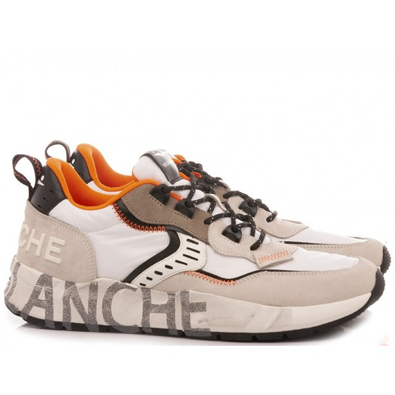 Voile Blanche Men's Sneakers Club01 Charcoal