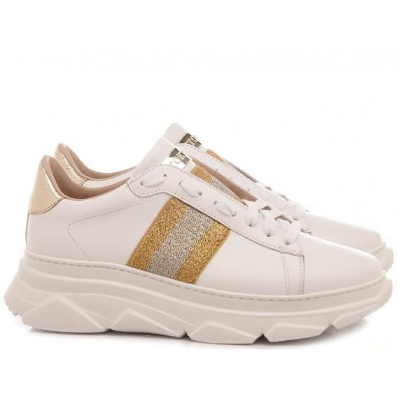 Stokton Women's Sneakers Leather White 650-D-FW20-U