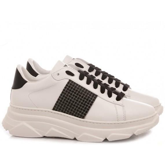 Stokton Women's Sneakers Leather White 854-D-UP