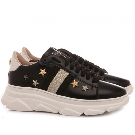Stokton Women's Sneakers Leather Black 769-D-FW20-U