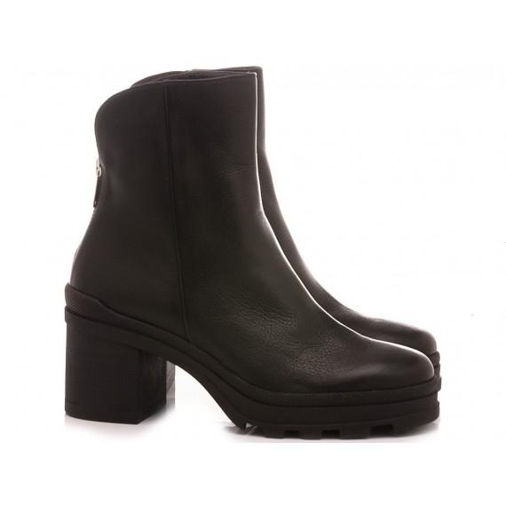 Janet Sport Women's Ankle Boots 46800 Black