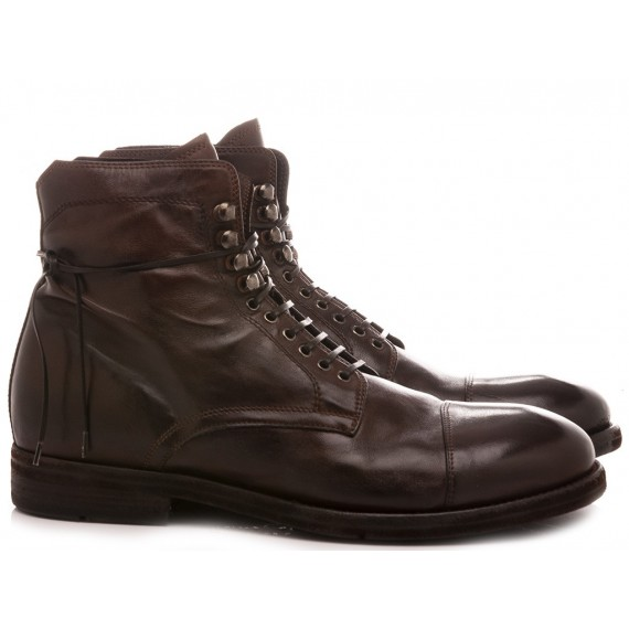 Lemarge Men's Shoes Ankle Boots Ebony DR02A