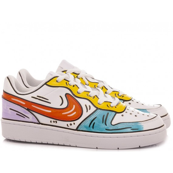 Nike Women's Sneakers Court Borough Low 2 Costumized