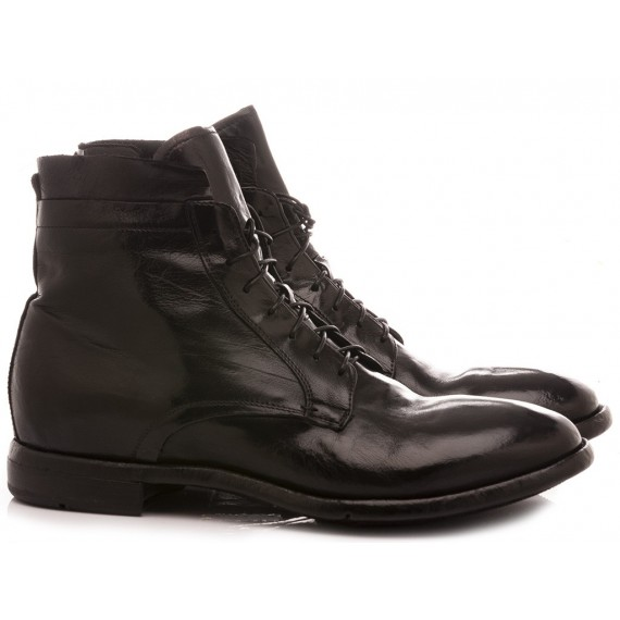 Lemarge Men's Shoes Ankle Boots Black AB15B