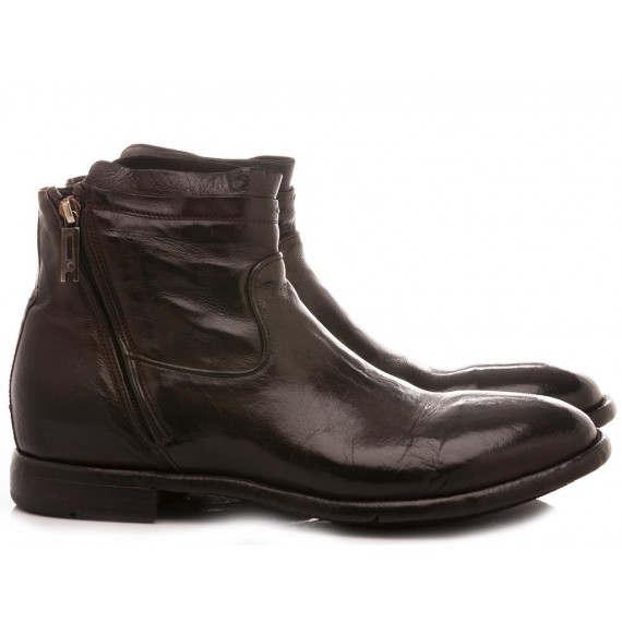 Lemargo Men's Shoes Ankle Boots Ebony AB11A