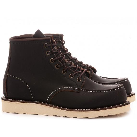 Herrenhalbschuhe Red Wing Shoes Schwarz Leder 08849