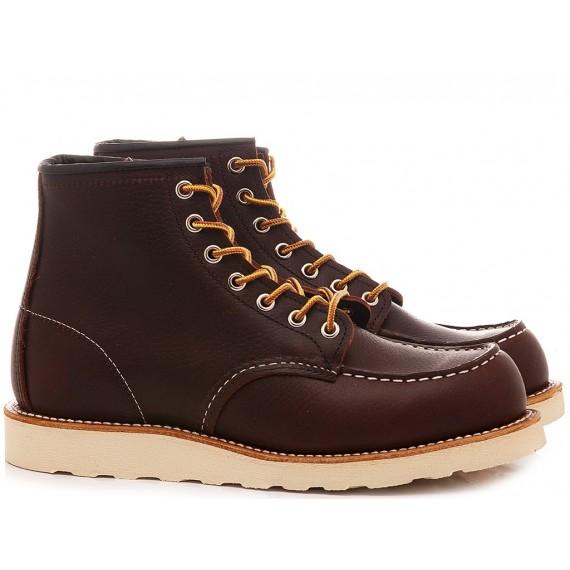 Herrenhalbschuhe Red Wing Shoes Braun Leder 08138