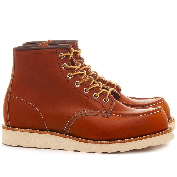 Herrenhalbschuhe Red Wing Shoes Rostfarbe 00875