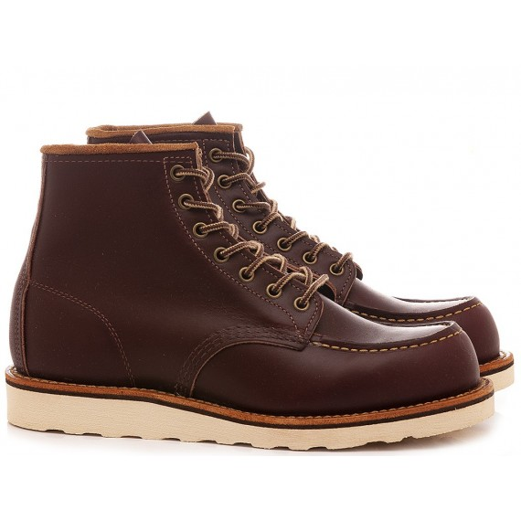 Herrenhalbschuhe Red Wing Shoes Rote Bordeaux 08856
